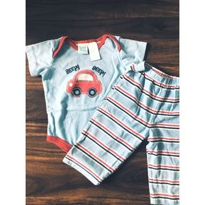 Boys 0-3 Month Outfit